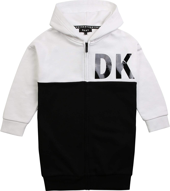 DKNY Cardigan Long /à Capuche Junior