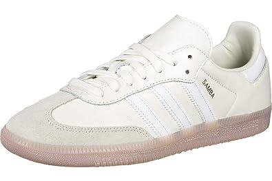 adidas Samba Femme Baskets Mode Blanc: Amazon.fr: Chaussures ...