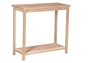International Concepts OT-43 Accent Table Unfinished