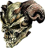 Rubie's Men's Standard Cave Demon Latex Mask, as Shown, One Size