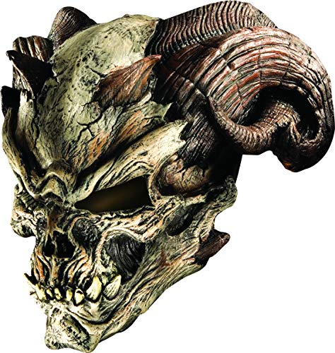 Rubie's Men's Standard Cave Demon Latex Mask, as