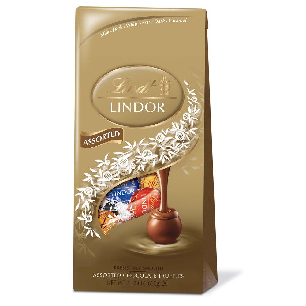 Amazon.com : Lindor Assorted Chocolate Truffles, 21.2 ounce ...