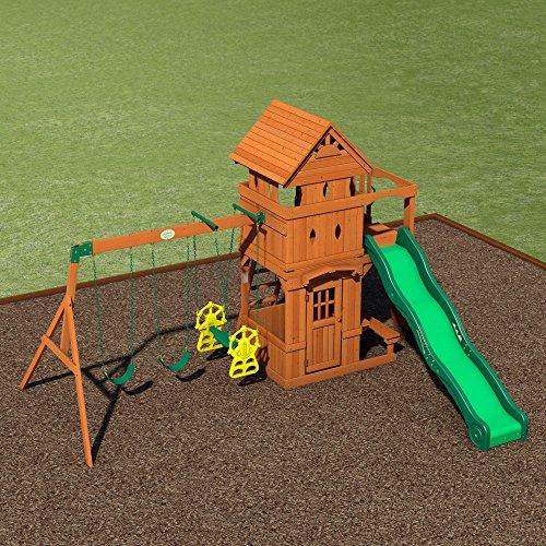 Backyard Discovery Monterey All Cedar Wood Playset Swing ...