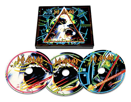 CD : Def Leppard - Hysteria (30th Anniversary Edition) (Remastered, Deluxe Edition, Anniversary Edition, 3 Disc)