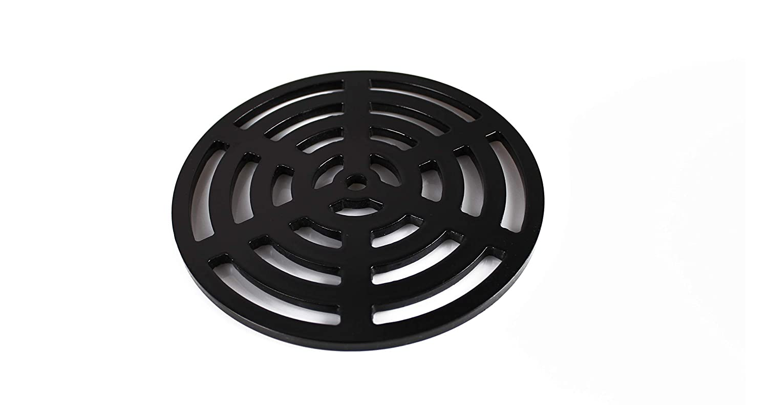 Stronger 190mm 19cm Square Solid Metal Steel Gully Grid Heavy Duty Drain Cover Grate Like cast Iron