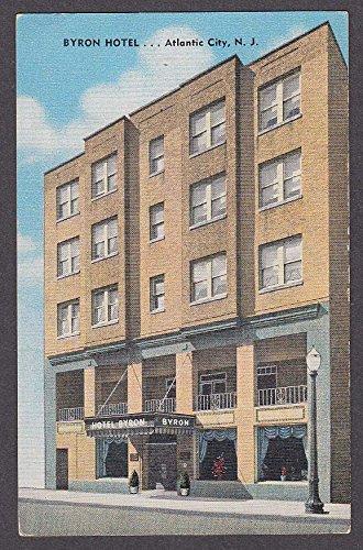 Byron Hotel 120 So Kentucky Ave Atlantic City NJ postcard 1930s (Atlantic City Nj Postcard)