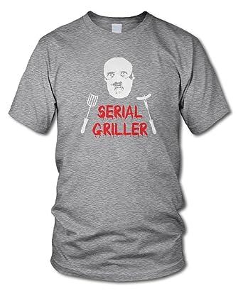 shirtloge - SERIAL GRILLER - KULT - Fun T-Shirt - in verschiedenen Farben - Größe  S - XXL: Amazon.de: Bekleidung
