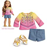 """American Girl Lea's Bahia Outfit for 18"""" Dolls  2016"""