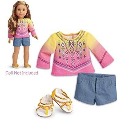 American Girl Of The Year 2016 Lea's Exclusive Purple Beach Dress Set
