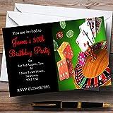 amazon com casino invitations event party supplies home