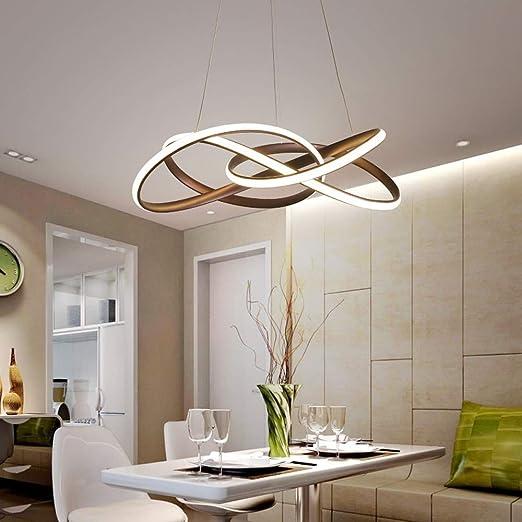 Moderna lámpara de techo colgante para comedor, lámpara de ...