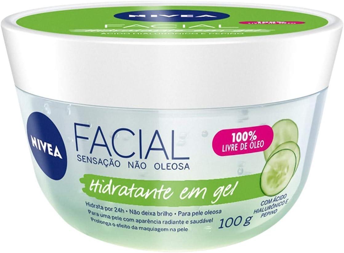 Hidratante Facial em Gel, da Nívea, 100g