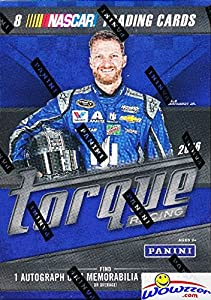 2016 Panini Torque Nascar Racing EXCLUSIVE Factory Sealed Retail Box with AUTOGRAPH or MEMORABILIA Card! Look for Cards & Autographs from Dale Earnhardt, Danica Patrick, Jimmie Johnson & Many More! by Wowzzer