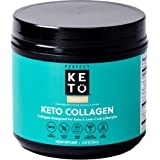 Perfect Keto Collagen Powder with MCT Oil - Grassfed, GF, Multi Supplement, Best for Ketogenic Diets, Use in Coffee…