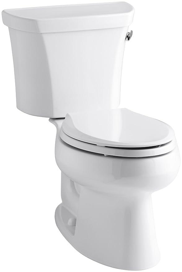 4. Kohler Wellworth Elongated Toilet