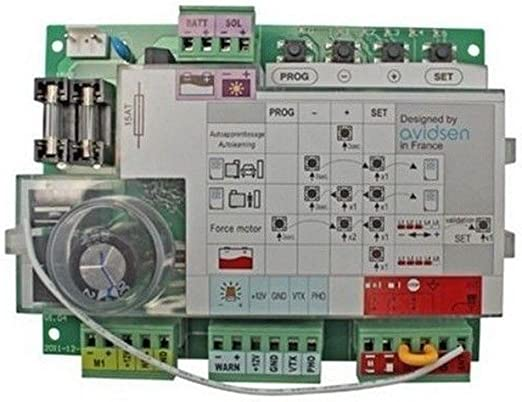 Tarjeta electrónica solar ca2b9sldtr Avidsen japonés: Amazon.es ...