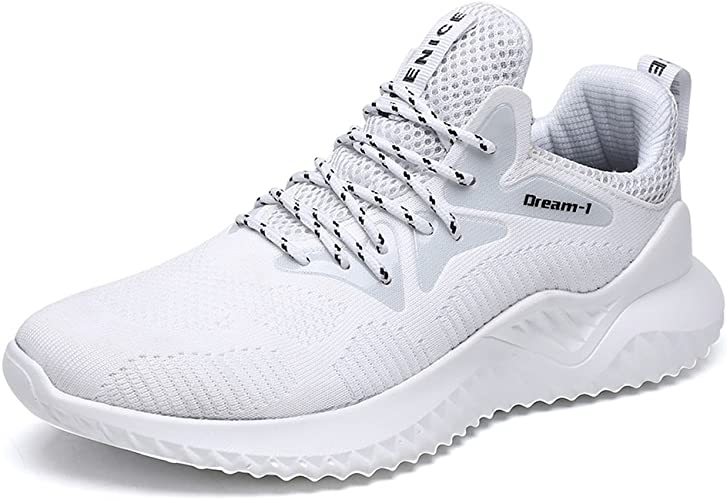 TUOKING Zapatos Correr Zapatillas Running para Hombre Calzado Deportivo de Gimnasia Deporte Casual Transpirables: Amazon.es: Zapatos y complementos