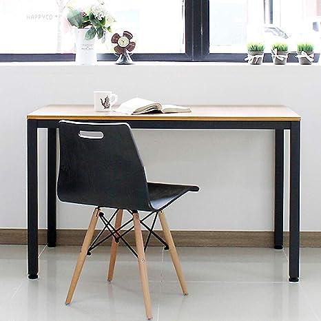 NeedFurniture Mesa de Ordenador 100x60 cm Escritorios para Computadora Escritorio de Oficina Mesa de Estudio Mesa de Comedor para Oficina en Casa, ...