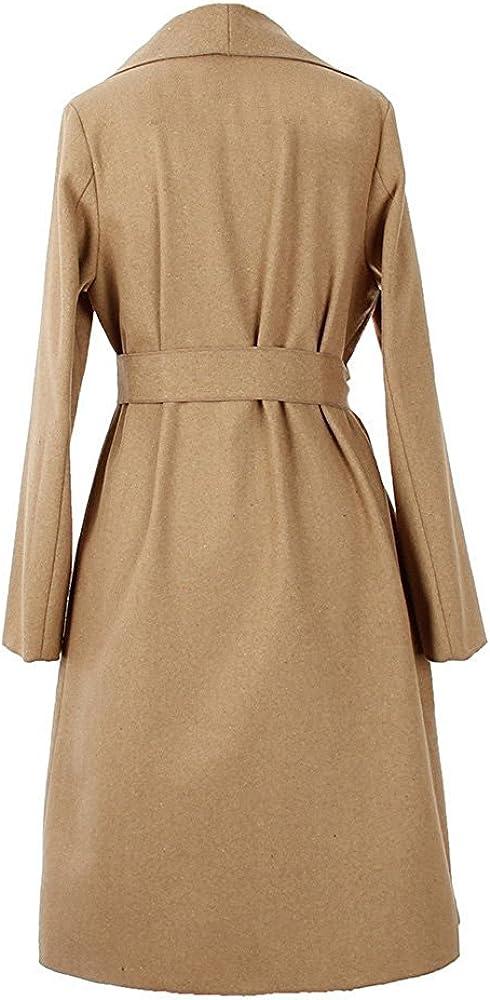 Geralds warmerWomens Loose Faux Fur Hood Puffer Long Down Coats with Pockets