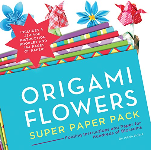 Paper Flower Folding (Origami Flowers Super Paper Pack: Folding Instructions and Paper for Hundreds of Blossoms (Origami Super Paper Pack))