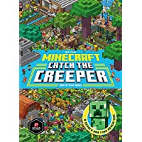 Minecraft: Catch the Creeper and Other Mobs: A Search and Find Adventure