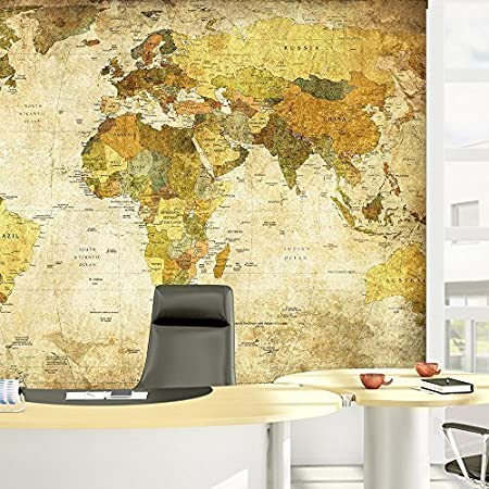 Walplus 280x200 cm wall stickers world map removable self adhesive walplus 280x200 cm wall stickers world map removable self adhesive mural art decals vinyl home gumiabroncs Images