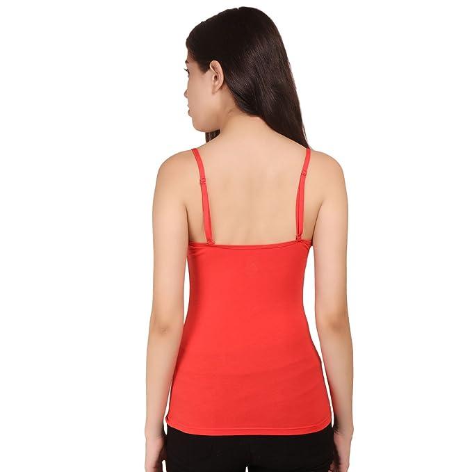 Ossirrio Women s Tanks Tops Adjustable Spaghetti Strap Cotton Camisole  Casual Blue Dress  Amazon.co.uk  Clothing 7eca0cb06