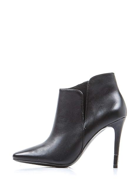 GUESS Botines para Mujer Zapatos de Tacón Alto 38 EU Negro: Amazon.es: Zapatos y complementos