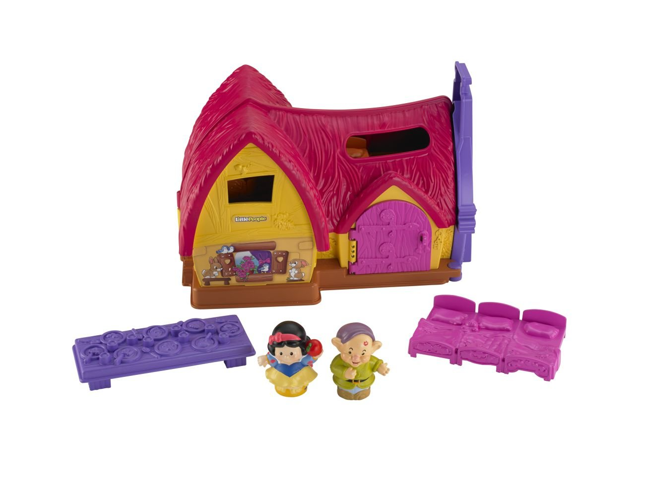 Fisher Price Little People Disney Princess Snow Whites Cottage