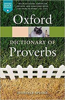 the-oxford-dictionary-of-proverbs-oxford-quick-reference