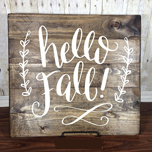 Fall Decorations - Vinyl Wall Decal,