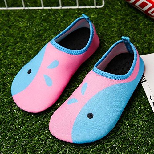 cuidado el al de Lucdespo aire zapatos DEEP en libre playa Natación la BLUE calzado buceo cintas zapatos la antideslizante correr los SK6 descalzo piel deportivos de nPnfFT