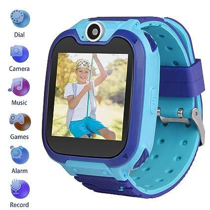 Amazon.com: Reloj inteligente para niños, GPS, LBS, IP68 ...