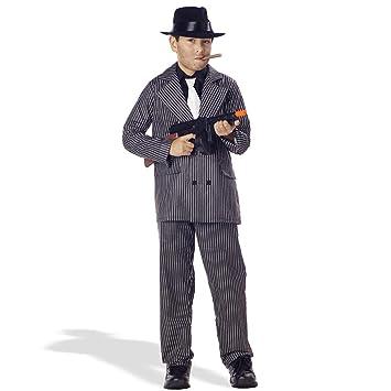 ノーブランド品 20\u0027s 20年代 ハロウィン コスプレ 衣装 ギャングスーツ マフィア 子供用コスチューム L