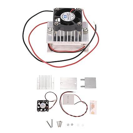 KKmoon sistema de refrigeración termoeléctrico para bricolaje, módulo de