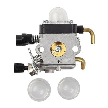 Salvador carburador Carb con imprimación bombilla para Stihl FS74 FS75 FS76 FS80 fs80r FS85 FC75 FC85