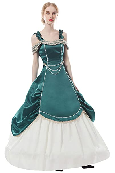 Lolita adulto traje mujeres vestido retro verde fuera del ...