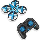 RCtown Mini Drone, 2.4GHz 4CH Mini UFO Quadcopter, Drone with 6-Axis Gyro Headless Mode Remote Control Nano Quadcopter (Blue)