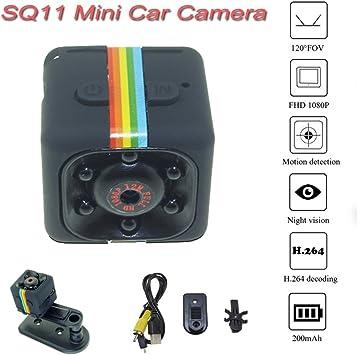 SQ11 Car Mini DVR Camera Full HD CMOS 1080P 140° Night Vision Video Recorder