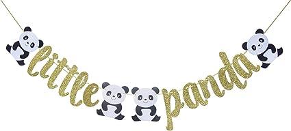 baby shower garland teddy bear garland pink and white bear garland Panda Bear garland paper garland