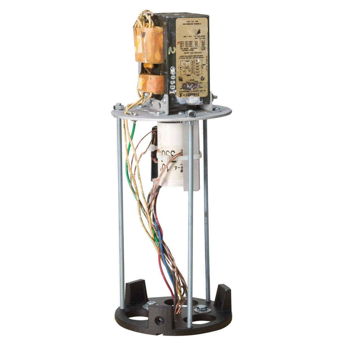 Kichler Lighting 15BLMH50BK Aluminum HID Metal Halide 120-volt to 277-volt Ballast Assembly, 50-watt, Black