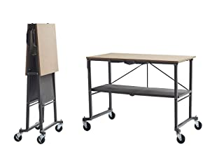COSCO 66721DKG1E Folding Workbench and Table, Dark Gray
