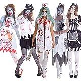 Morph Costumes Womens Bloody Zombie Halloween Costume Costume