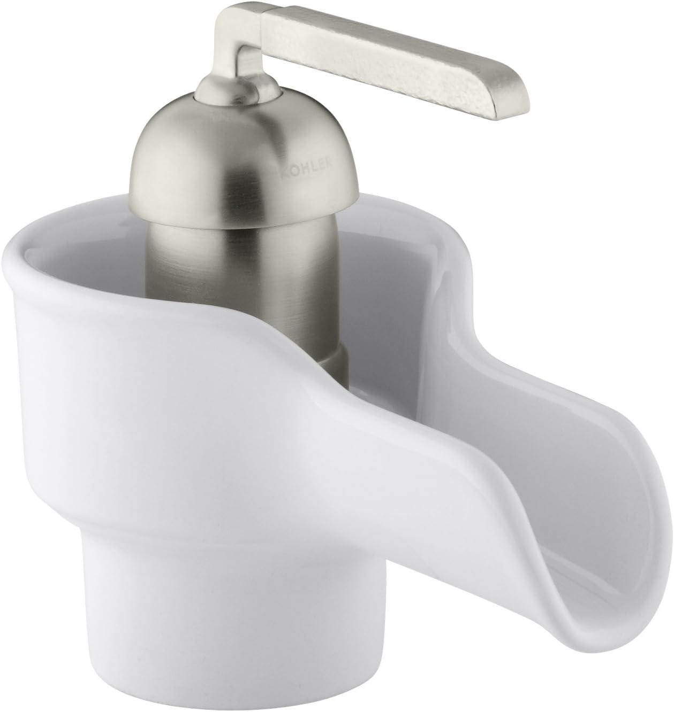 KOHLER K-11000-0 Bol Ceramic Faucet, White