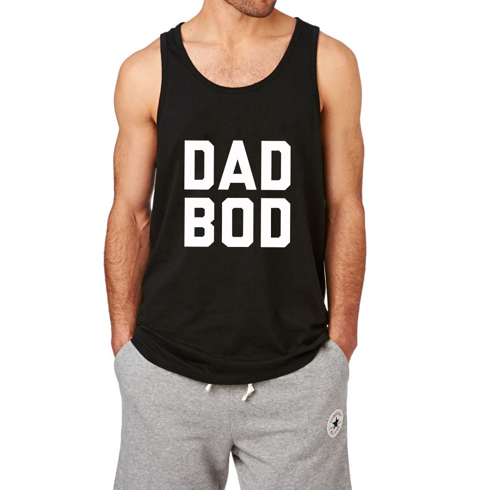 Loo Show Dad Bod Funny Father Gift Workout Tank Top Men Graphic Vest-CD