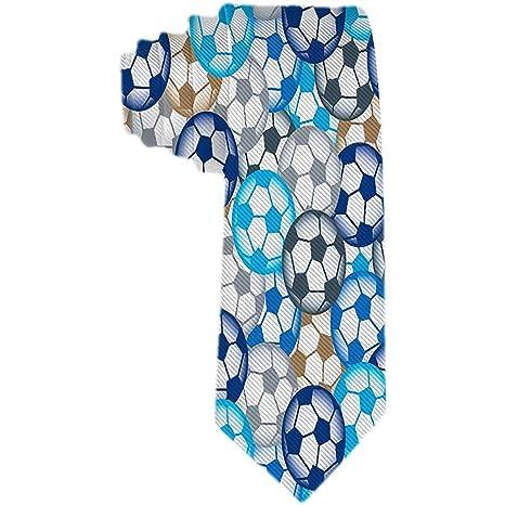 Corbatas de fútbol de varios colores para hombre Corbata de seda ...