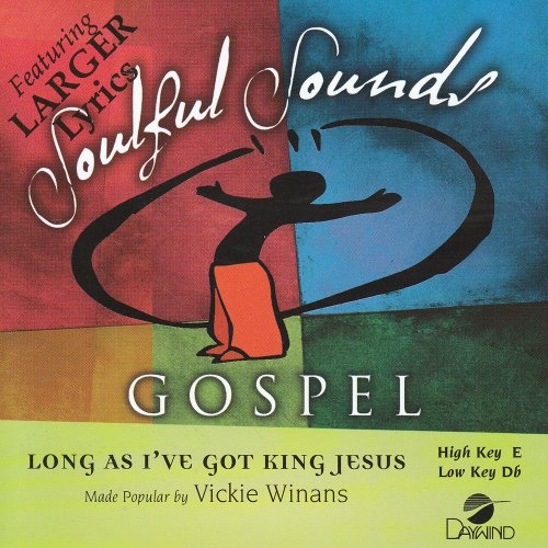 Long As I've Got King Jesus [Accompaniment/Performance Track] (Accompaniment Cd King)