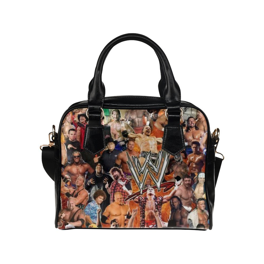 Angelinana Custom Women's Handbag WWE World Wrestling Entertainment Fashion Shoulder Bag by Angelinana