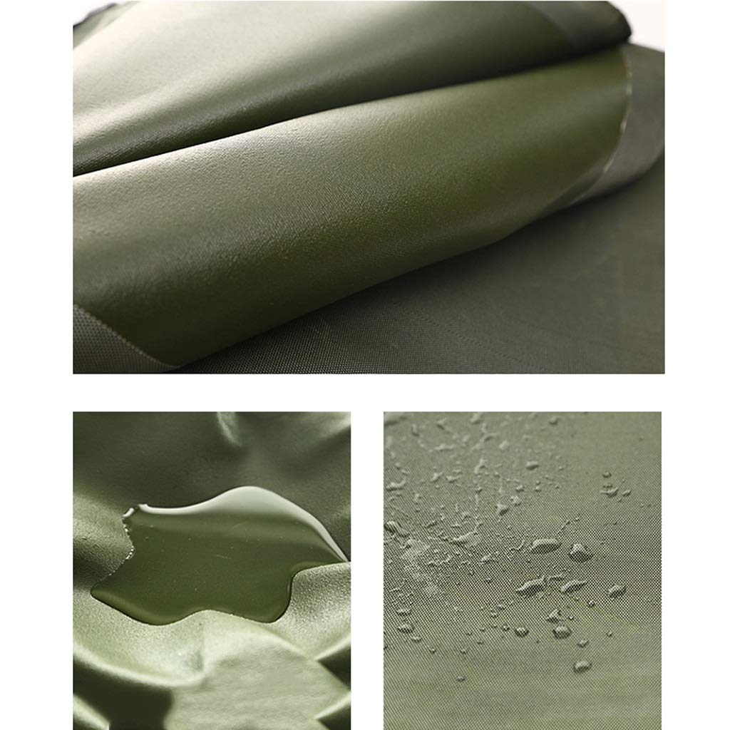 Lona de Lona Gruesa de Lona de protección Solar a Prueba de Gruesa Agua (Color : Verde, Tamaño : 2x1.5m) ec5ff3