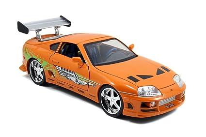908646e245d9 Amazon.com  Jada Toys Fast   Furious Toyota Supra 1  18 Diecast ...